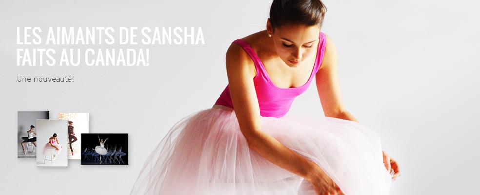 Les aimants de Sansha faits au Canada